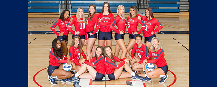 Jefferson College Volleyball Team
