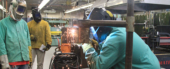 Jefferson College Welding Program